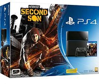 Sony PlayStation 4 (PS4) 500GB + inFamous: Second Son