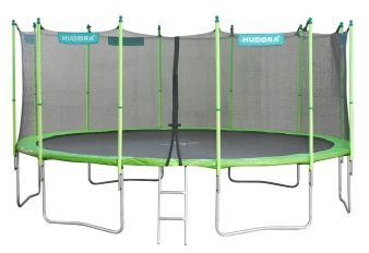 hudora family trampolin 480 cm mit sicherheitsnetz preisvergleich ab 389 99. Black Bedroom Furniture Sets. Home Design Ideas