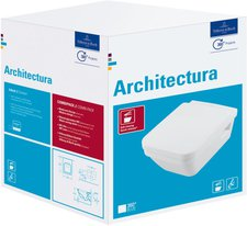 Villeroy & Boch Architectura Wand-Tiefspül-WC Combi-Pack (5685H1R1)