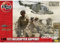 Airfix British Forces Helicopter Support Gift Set (50122)