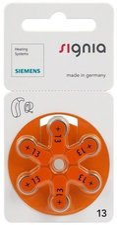 Siemens S13 Zink-Luft Hörgeräte-Batterien (6 St.)