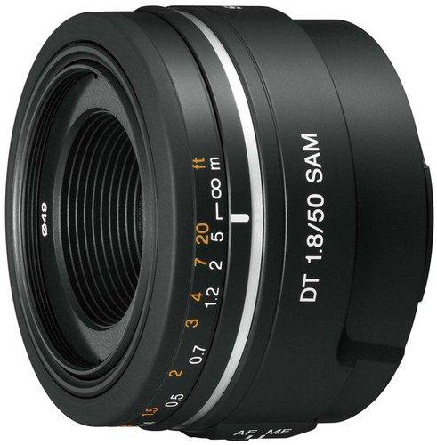 Sony E 50mm f1.8 OSS (silber)