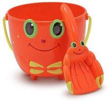 Melissa & Doug Clicker Crab Pail and Shovel Sand Toys (6400)