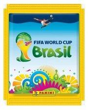 Panini Sticker WM 2014 Brazil (1 Tüte)