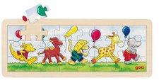 goki Einlegepuzzle Tierparade