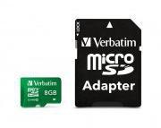 Verbatim microSDHC 8GB Class 10 (44042)