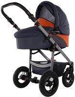 Knorr-Baby Jumper Grau/Orange