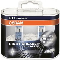 Osram Night Breaker Unlimited H11 Duo-Pack