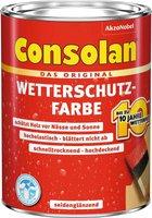 Consolan Wetterschutz-Farbe 2,5 l gelb
