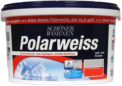 sch ner wohnen polarweiss 10 liter ab 38 62 bestellen. Black Bedroom Furniture Sets. Home Design Ideas