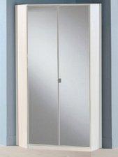 Wimex Wohnbedarf Eckschrank Kosmos Alpinweiß Spiegel