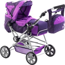 Bayer Chic Road Star Puppenwagen pflaume