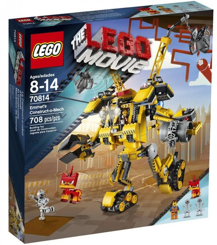 LEGO The LEGO Movie - Emmets Construct-O-Mech (70814)