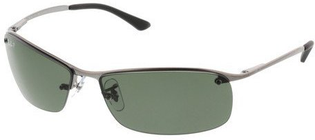 Ray-Ban Top Bar RB3183 004/9A (gunmetal/polarized green)