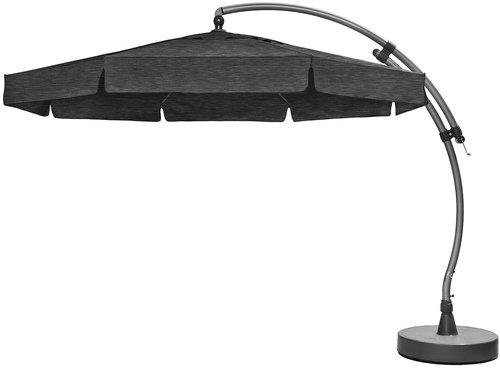 sun garden easy sun 350 cm grau anthrazit g nstig kaufen. Black Bedroom Furniture Sets. Home Design Ideas