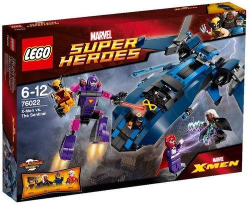 LEGO Super Heroes X-men vs. The Sentinel (76022)