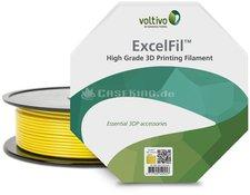 Voltivo ExcelFil PLA-Filament gelb (EF-PLA-175-CYELL)
