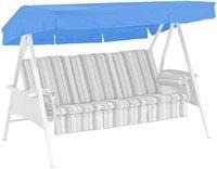 Kettler Ersatzdach für Avantgarde 3-Sitzer 207 x 146 cm blau