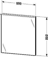 Duravit X-Large Spiegel beleuchtet (XL729408686)