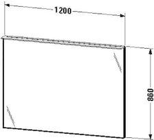 Duravit X-Large Spiegel beleuchtet (XL729608585)