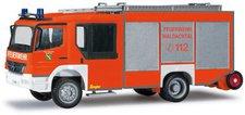 """Herpa Mercedes-Benz Atego Ziegler Z-Cab LF 20  """"Feuerwehr Waldachtal """" (091299)"""