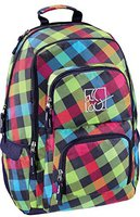 Hama All Out Louth Rucksack rainbow check