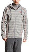 Bergans Humle Jacket Grey Striped / Red