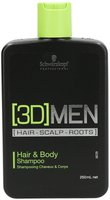 Schwarzkopf [3D]Men Hair & Body Shampoo (250 ml)