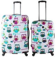 Saxoline Owls 4-Rollen-Trolley Set 2-tlg. 567/77 cm