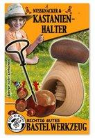 Corvus Nussknacker und Kastanienhalter aus Holz