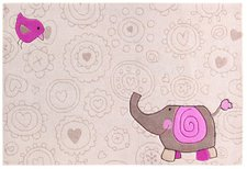 sigikid Happy Zoo Elephant beige 90x160cm