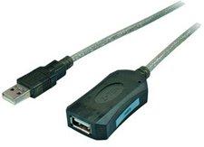 Tecline Aktives USB 2.0 Verlängerungskabel, St. A/Bu. A, 5m (17000017)