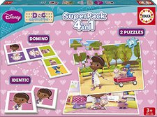 Educa Superpack Doc Mc Stuffins 4 in 1