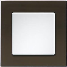 Eltako Q-Rahmen 1-fach Glas (QR1GS-SZ)