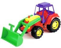 Molteni Traktor mit Schaufel