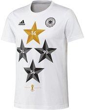 Adidas Deutschland Weltmeister T-Shirt Damen 2014