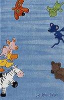 Böing Carpet Die Lieben Sieben Teppich (80 x 150) blau
