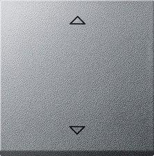 Gira Jalousie-Steuertaster, aluminium 232426