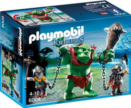 RIESEN TROLL MIT ZWERGEN Playmobil 6004 zu Magic Dwarf Ketten Oger Gnome OVP NEU Abenteuer