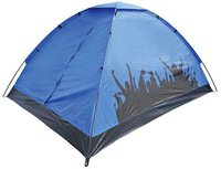 Yellowstone Carnival Zelt blau