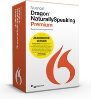 Nuance Dragon Naturally Speaking 13 Premium (DE) (Win) (EDU)