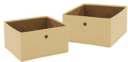 Roba Canvas-Boxen 2er-Set sand