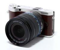 Samsung NX300 Kit 18-55 mm [OIS III] (braun)