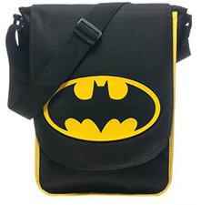 DC Direct Batman Classic Messenger Bag (MB0UDQBTM)