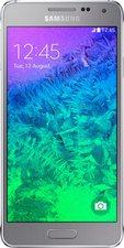 Samsung Galaxy Alpha Sleek Silver ohne Vertrag