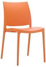 CLP Trading GmbH Kunststoffstuhl Maya orange