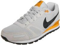 Nike Air Waffle Trainer Leather light ash grey/medium ash/yellow