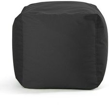 SITTING BULL Square Outdoor Sitzwürfel - schwarz