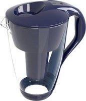 Pearl Co Glas-Wasserfilter dunkelblau