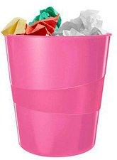 Leitz WOW Papierkorb Pink Metallic